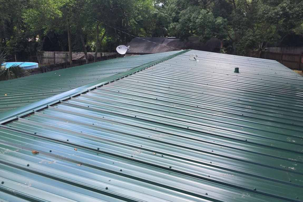 Residential Metal Roof Installation Florida