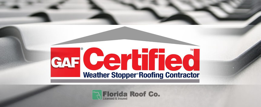 GAF Certified Florida Roofing Contractor