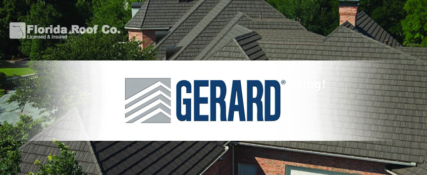 Gerard Certified Florida Roofing Contractor