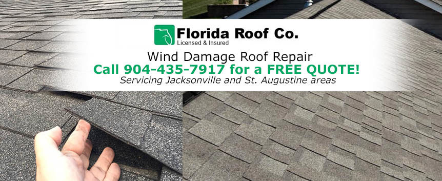Wind Damage Roof Repair