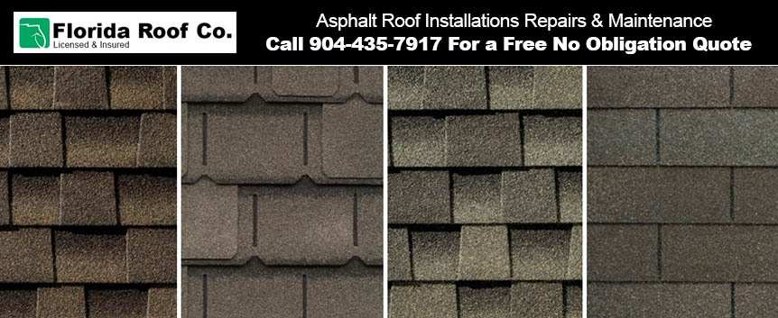 Asphalt Roof Installations Repairs Maintenance