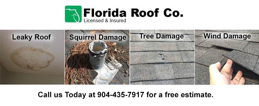 Jacksonville St Augustine Roof Repair