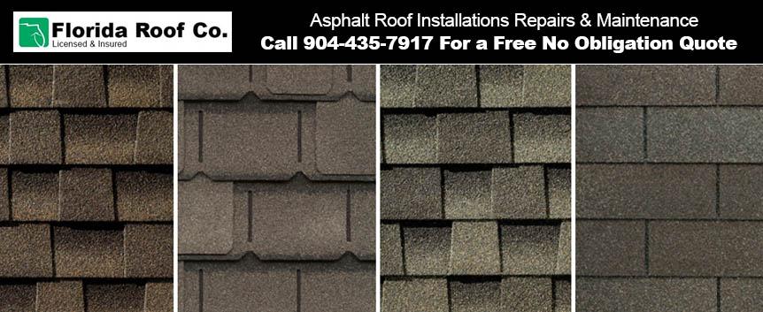 Asphalt Roof Installations Repairs Maintenance