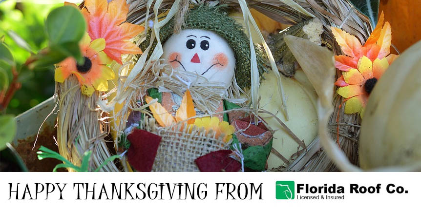 Happy Thanksgiving from Florida Roof